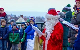 Weihnachtswanderung und Lagerfeuer