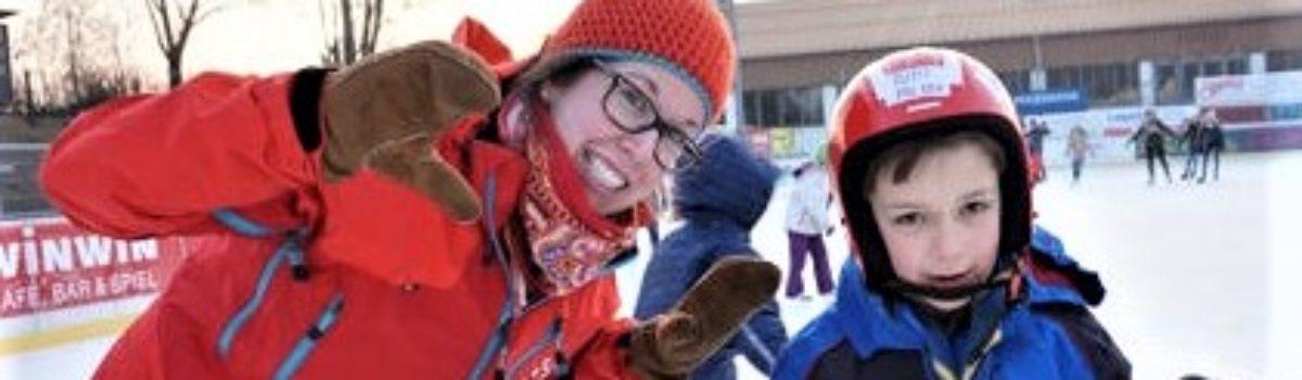 Eislaufen in der Heimstunde
